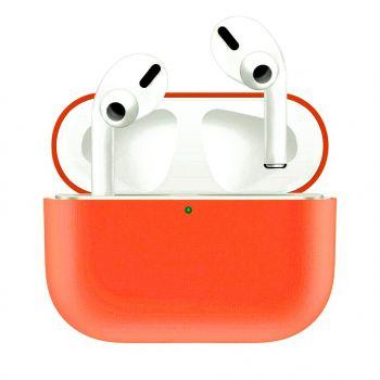 Оранжевый силиконовый чехол для AirPods Pro
