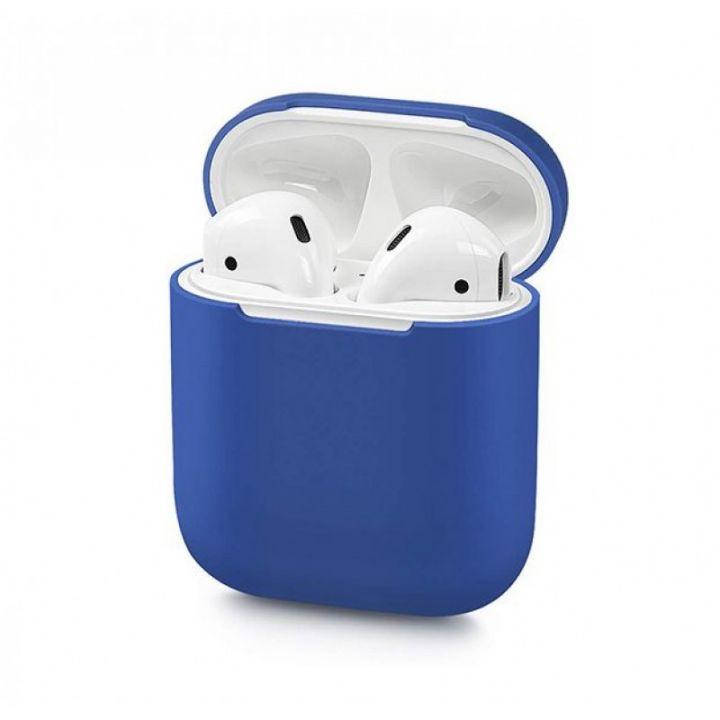 Синий силиконовый чехол для AirPods