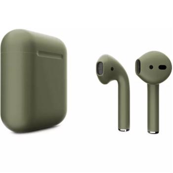 Наушники Apple AirPods 2, болотно-зеленые матовые