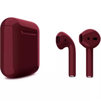 Наушники Apple AirPods 2, бордовый глянец