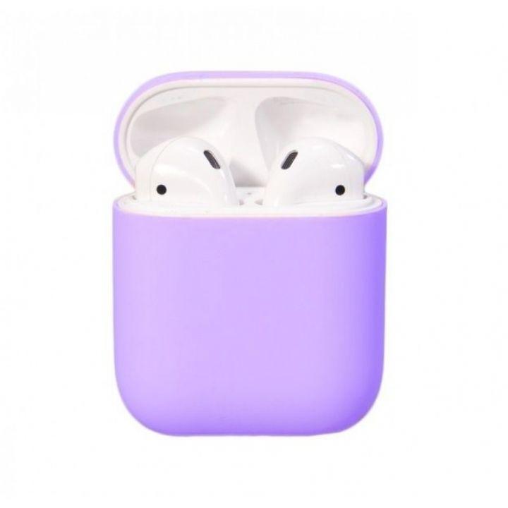 Чехол Soft Touch для AirPods (фиолетовый)