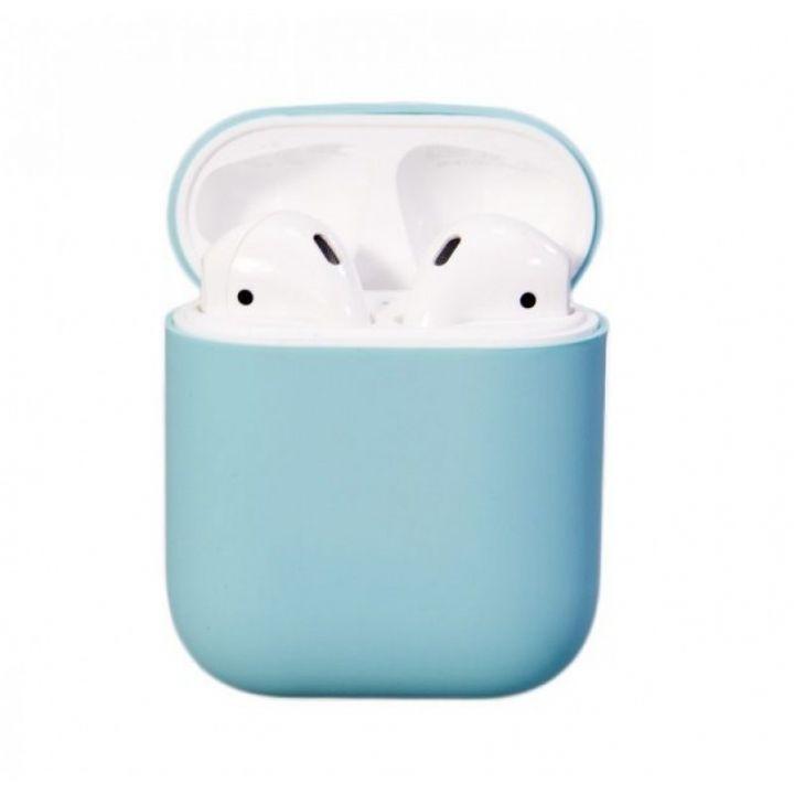 Чехол Soft Touch для AirPods (нежно-голубой)