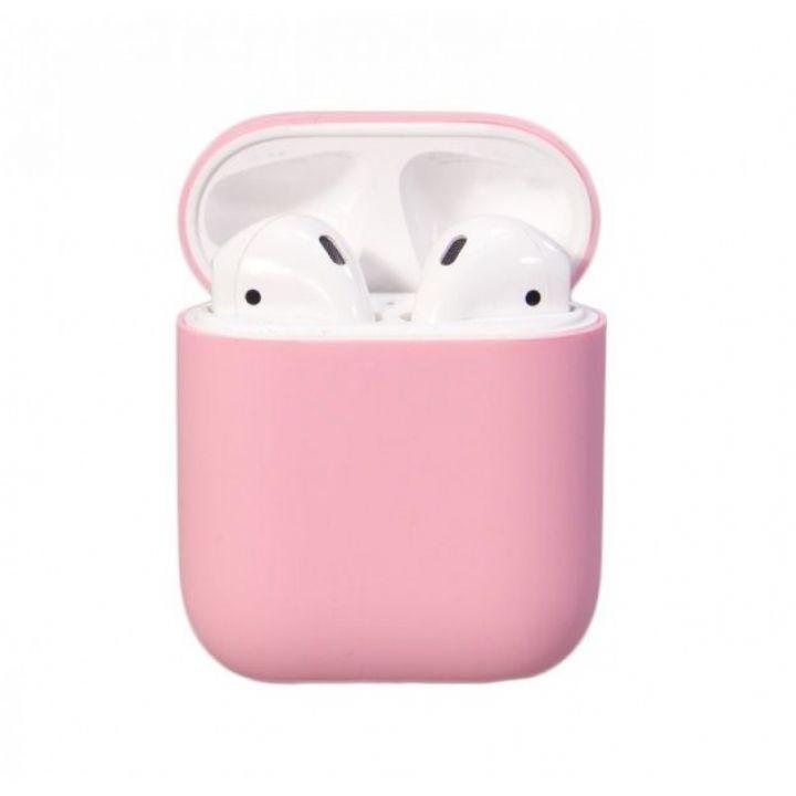 Чехол Soft Touch для AirPods (розовый)