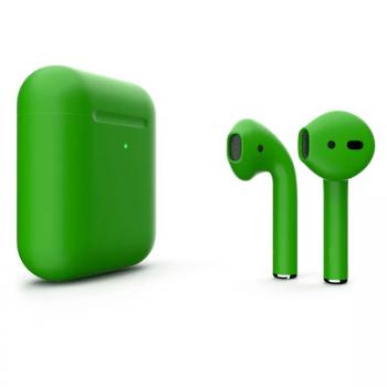 Наушники Apple AirPods 2, зеленые матовые