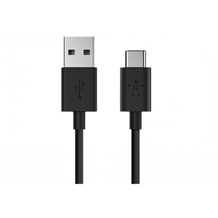 Кабель USB-A на USB-C, 1 метр, черный