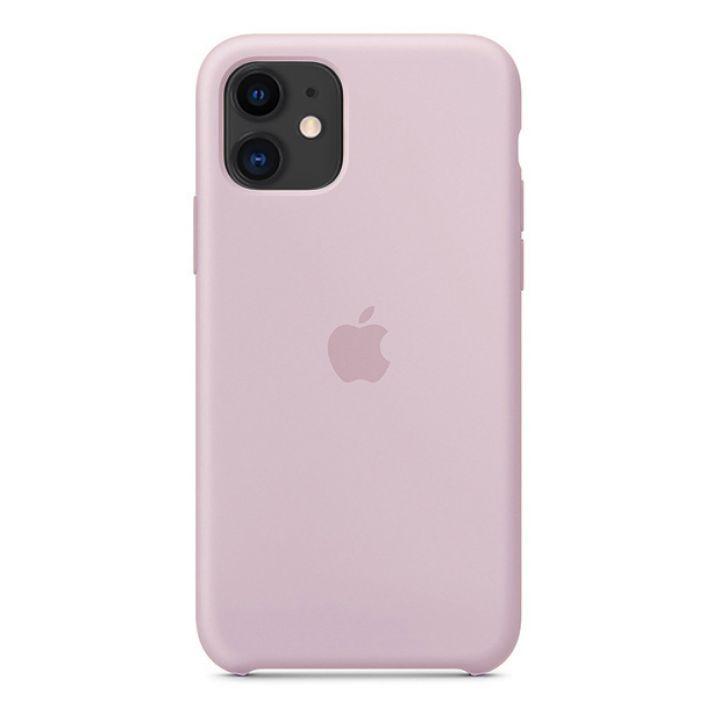 Чехол для iPhone 11 Silicone Case силиконовый сиреневый