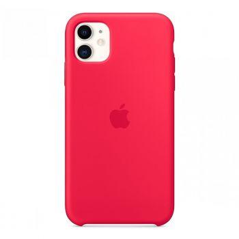 Красный силиконовый чехол для iPhone 11 Silicone Case