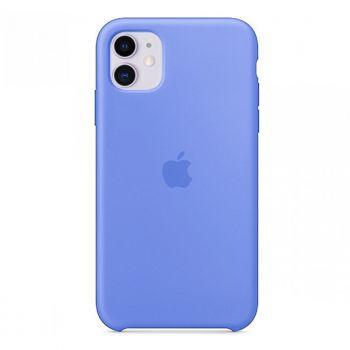 Светло-синий силиконовый чехол для iPhone 11 Silicone Case