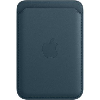 Кожаный чехол-бумажник Apple MagSafe для iPhone 12 Pro Max, «балтийский синий»
