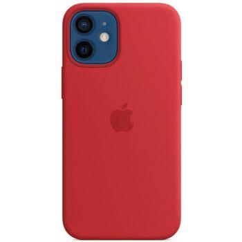 Чехол Silicone Case для iPhone 12 Mini, cиликон, красный