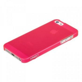 Накладка пластиковая XINBO для iPhone 5/5s/SE розовая