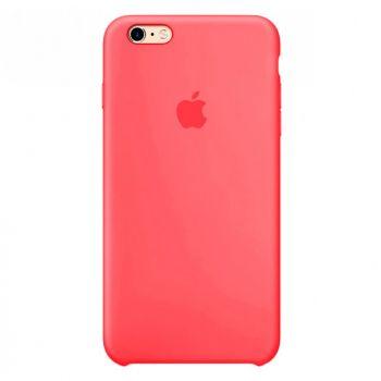 Розовый силиконовый чехол для iPhone 6 Plus/6s Plus