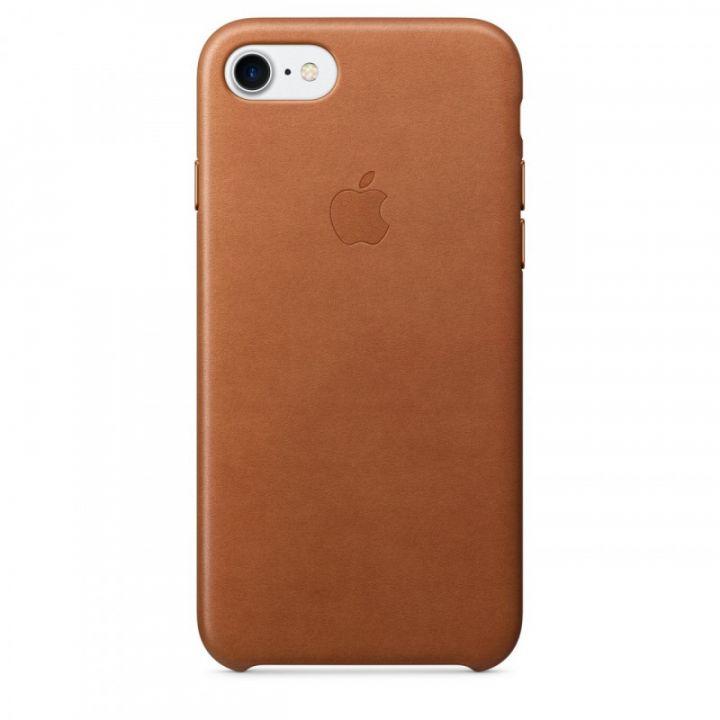 Кожаный чехол Apple для iPhone 7/8/SE2 (золотисто-коричневый)