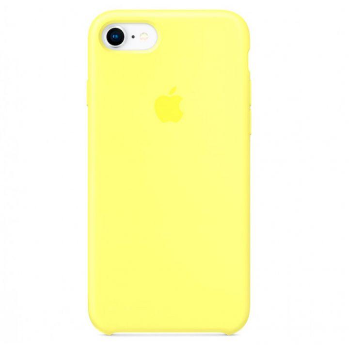 Лимонный силиконовый чехол для iPhone 7/8/SE2 Silicone Case