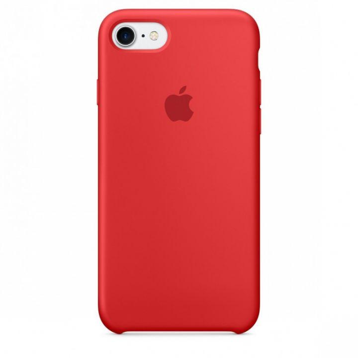 Силиконовый чехол для iPhone 7/8/SE2 (RED PRODUCT)