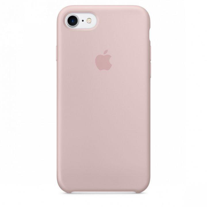 Силиконовый чехол для iPhone 7/8/SE2 (розовый песок)