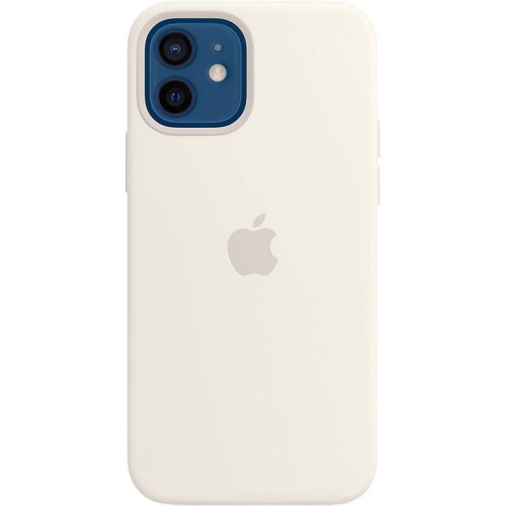 Чехол Silicone Case для iPhone 12/12 Pro, cиликон, белый