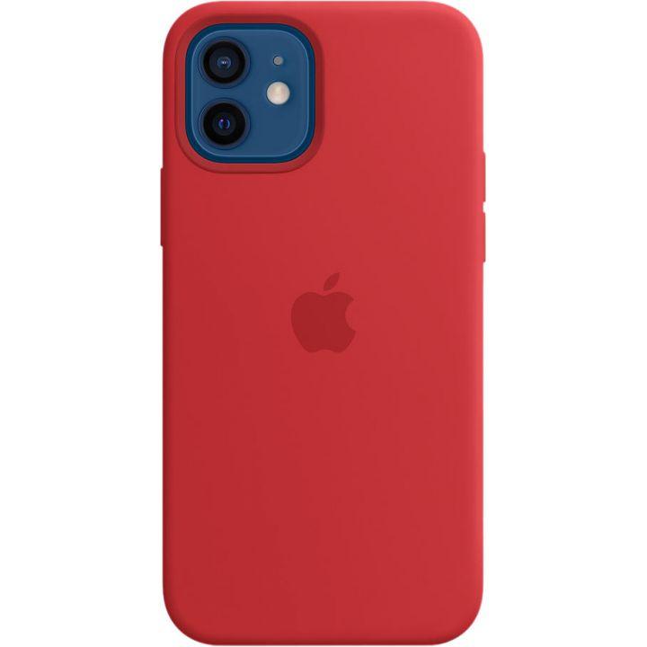 Чехол Silicone Case для iPhone 12/12 Pro, силикон, (PRODUCT)RED