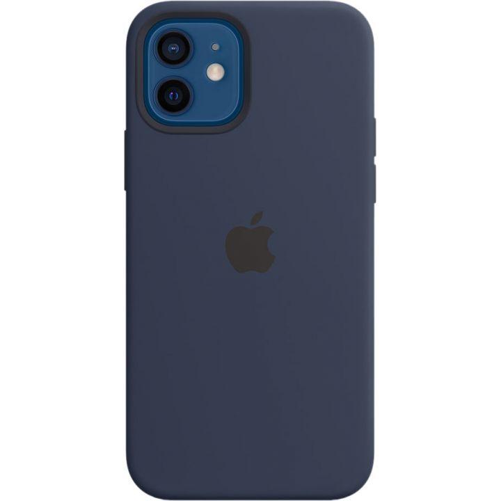 Чехол Silicone Case для iPhone 12/12 Pro, cиликон, «тёмный ультрамарин»