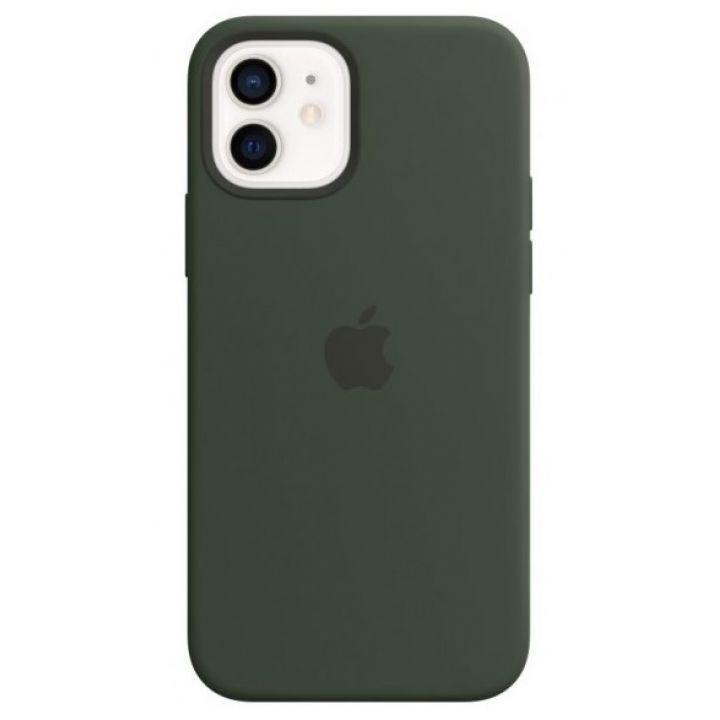 Чехол Silicone Case для iPhone 12/12 Pro, cиликон, «кипрский зелёный»