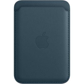 Кожаный чехол-бумажник Apple MagSafe для iPhone 12 / 12 Pro, «балтийский синий»