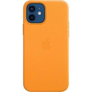 Чехол Leather Case для iPhone 12/12 Pro, кожа, «золотой апельсин»