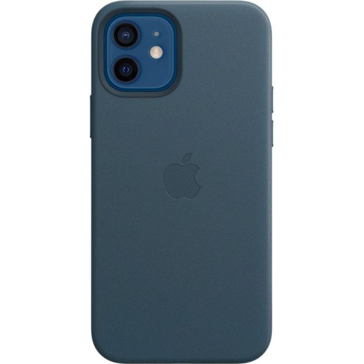Чехол Leather Case для iPhone 12/12 Pro, кожа, «балтийский синий»