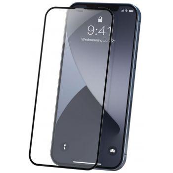 Защитное стекло 0.23mm для iPhone 12/iPhone 12 Pro (Black)