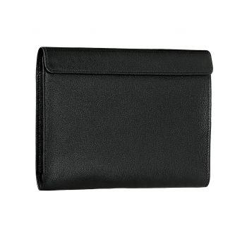 Чехол-конверт Alexander для MacBook 12'', кожа, классика, чёрный