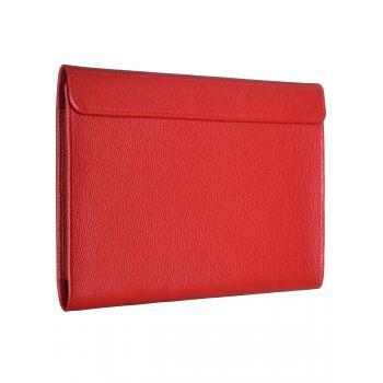 Чехол-конверт Alexander для MacBook 12'', кожа, классика, красный