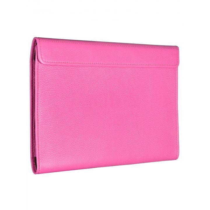 Чехол-конверт Alexander для MacBook 12'', кожа, классика, розовый
