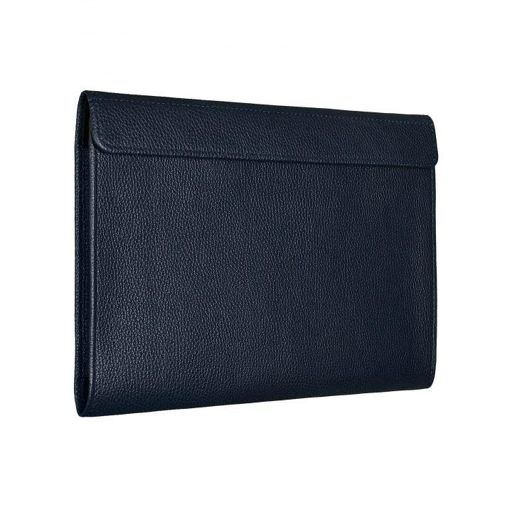 Чехол-конверт Alexander для MacBook 12'', кожа, классика, тёмно-синий