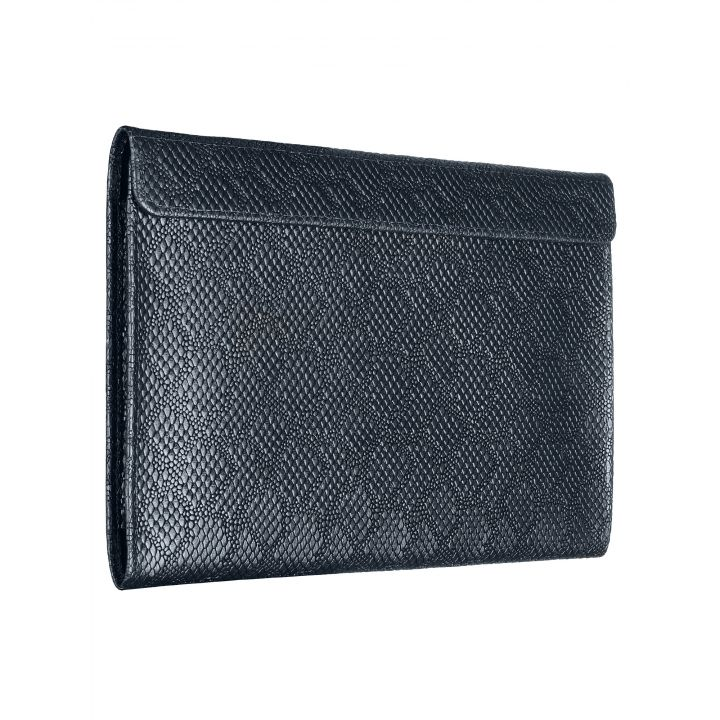 Чехол-конверт Alexander для MacBook 12'', кожа, ромб, синий