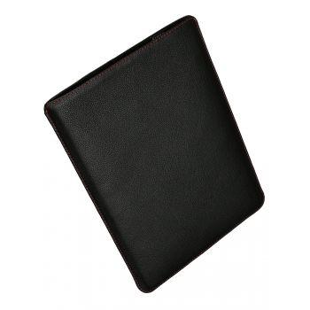 Чехол вертикальный Alexander для MacBook 12'', кожа, классика, чёрный