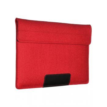 """Чехол-конверт Alexander для MacBook Pro 13"""" / Air 13"""", войлок и кожа, красный"""