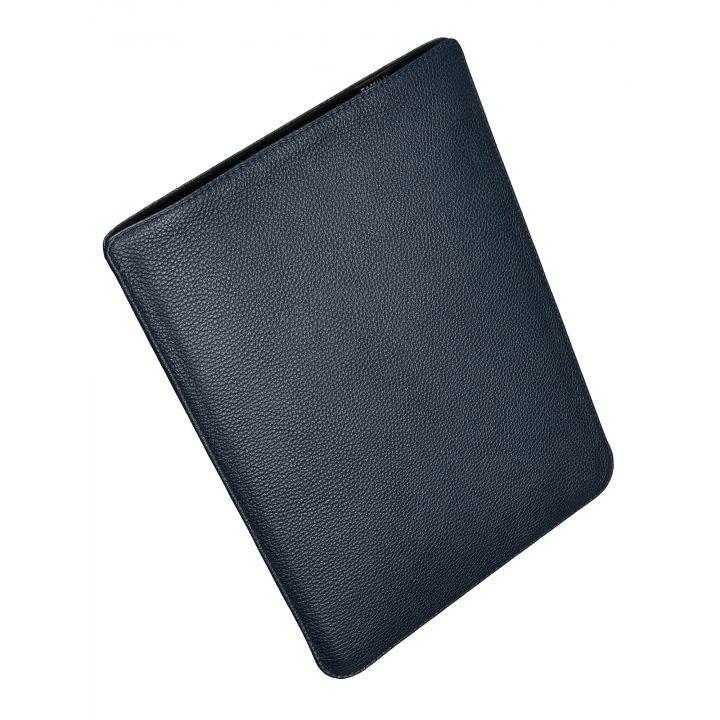 """Чехол вертикальный  Alexander для MacBook Pro 15"""", кожа, классика, тёмно-синий"""