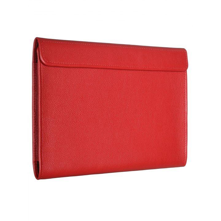 """Чехол-конверт Alexander для MacBook Pro 16"""", кожа, классика, красный"""