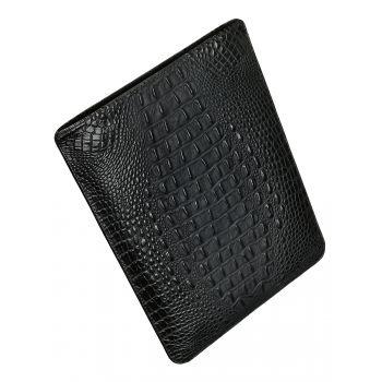 """Чехол вертикальный Alexander для MacBook Pro 16"""", кожа, кроко, чёрный"""
