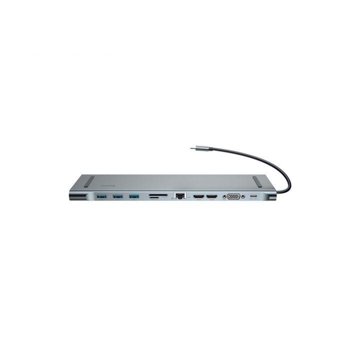 Хаб-переходник Baseus Enjoyment Series Type-C Notebook HUB Adapter