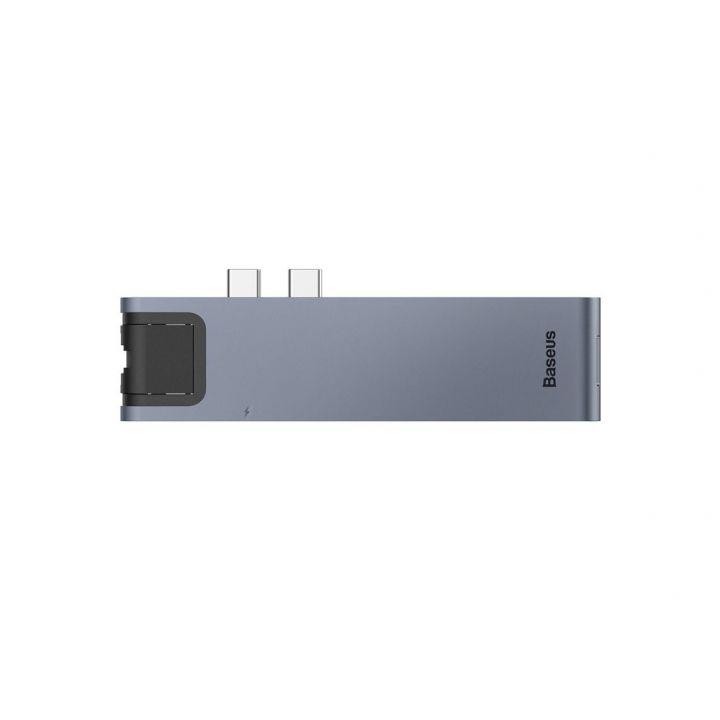 Хаб-переходник Baseus thunderbolt C +Pro Seven-in-one smart HUB docking station