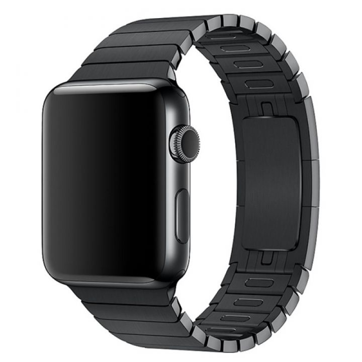 Ремешок браслет Link Bracelet 38/40 мм Black для Apple Watch