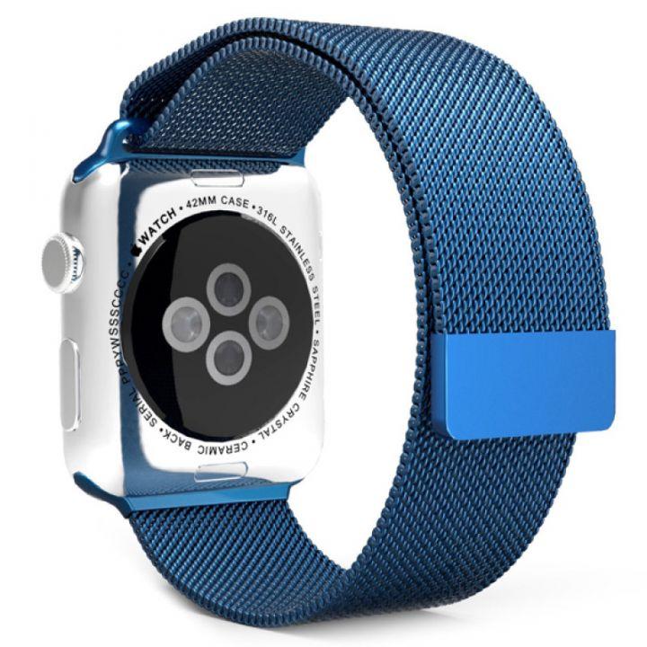 Ремешок Миланский Mokka Milanese Loop Midnight Blue для Apple Watch 38/40 мм