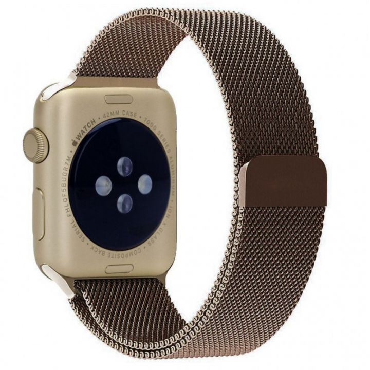 Ремешок Миланский Mokka Milanese Loop Cocao для Apple Watch 38/40 мм