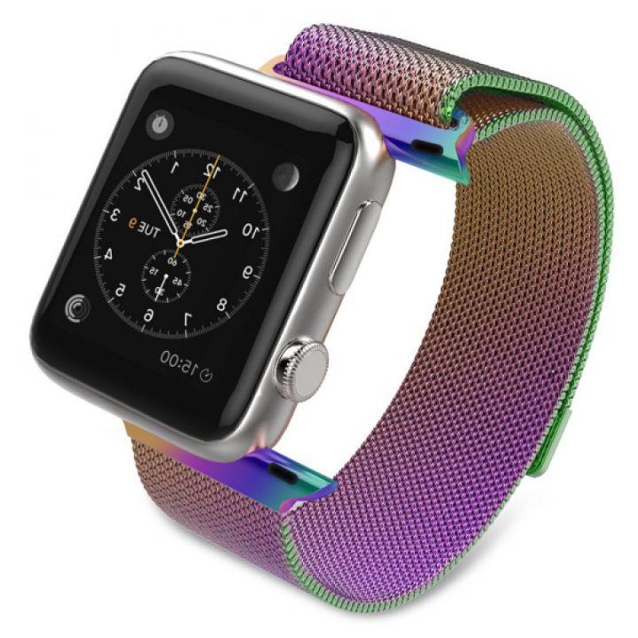 Ремешок Миланский Mokka Milanese Loop ColorFull для Apple Watch 38/40 мм