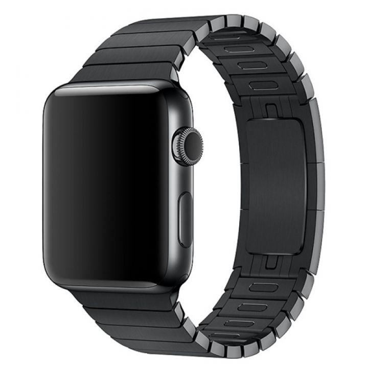 Ремешок браслет Link Bracelet 42/44 мм Black для Apple Watch