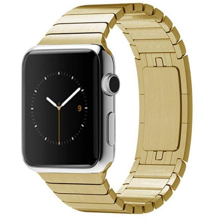 Ремешок браслет Link Bracelet 42/44 мм Gold для Apple Watch