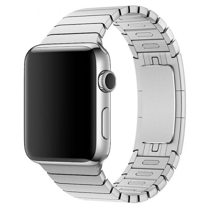Ремешок браслет Link Bracelet 42/44 мм Silver для Apple Watch