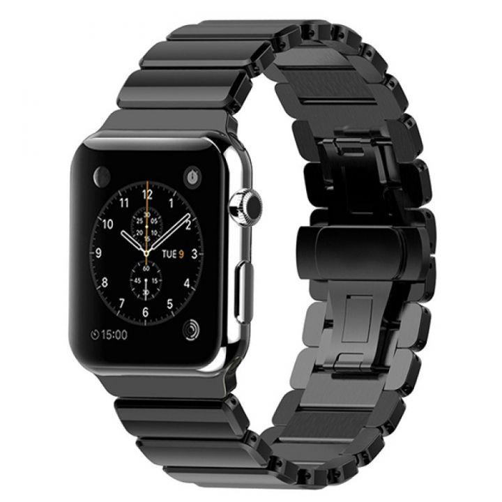 Ремешок Ceramic Керамический 42/44 мм Black для Apple Watch