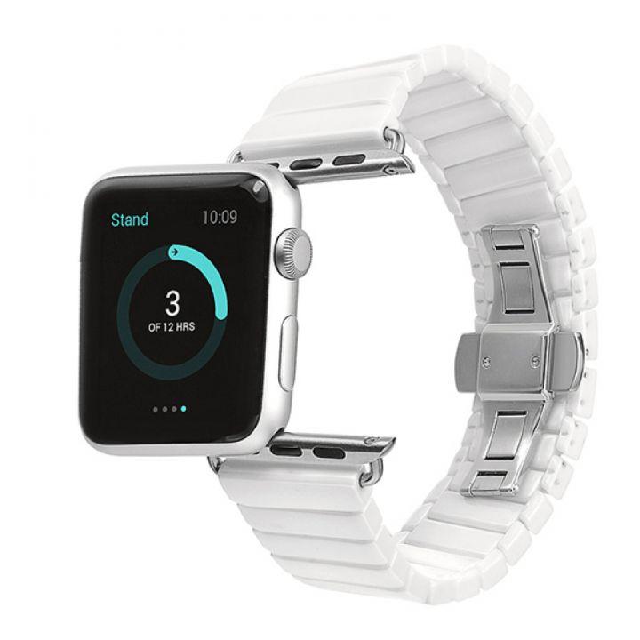 Ремешок Ceramic Керамический 42/44 мм White для Apple Watch