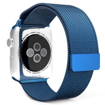 Ремешок Миланский Mokka Milanese Loop Midnight Blue для Apple Watch 42/44 мм